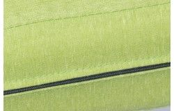 Kültéri vízlepergető Rattanbútor ülőpárna zöld cipzáras huzattal 6 méretben