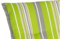 Selma csíkos Napozóágy párna zöld 193x60x6cm
