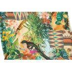 Miami Napozóágy párna trópusi mintával 191x58x8cm