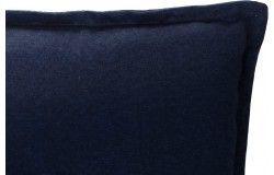 Lomita Napozóágy párna 193x60x6cm vizlepergető sötétkék huzattal