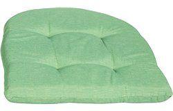 Lekerekített Székpárna 41x41x4,5cm Zöld