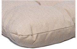Vastag ülőpárna 38x38x6cm homok