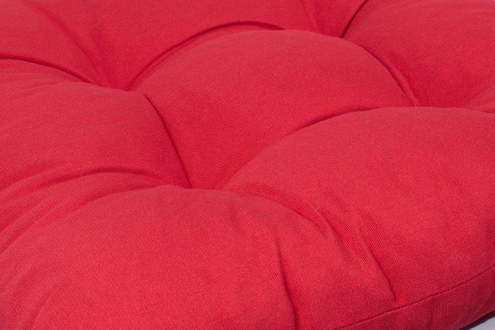 Espino Vízlepergető Magastámlás kerti székpárna piros 118x50x6cm