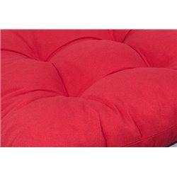 Espino vízlepergető párna Magastámlás székhez 118x50x6cm sötét szürke