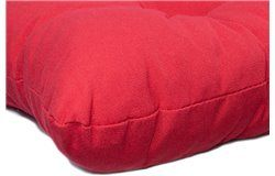 Vastag ülőpárna 38x38x8cm piros