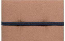 Lomita alacsonytámlás székpárna 101x50x6cm vizlepergető barna huzattal