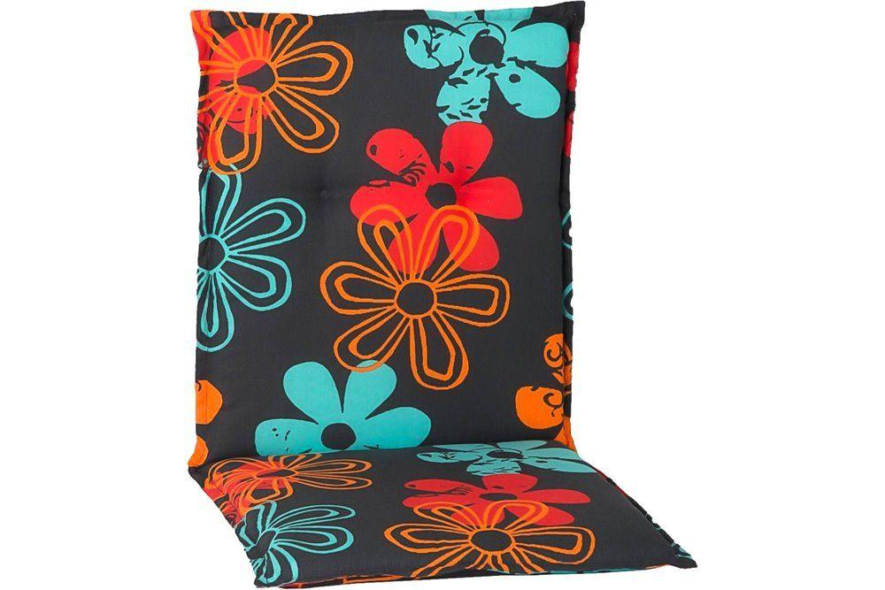 Frozen virágmintás párna alacsonytámlás székhez 101x50x6cm