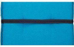 Taft Napozóágy párna 191x58x8cm vizlepergető kék huzattal