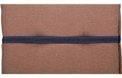 Taft Napozóágy párna 191x58x8cm vizlepergető barna huzattal