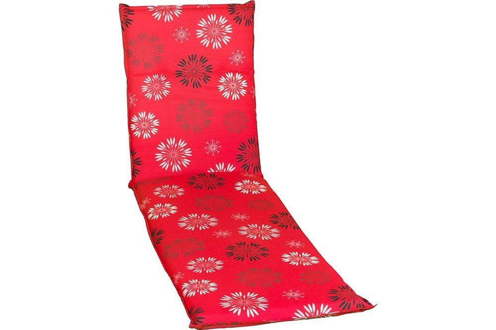 Baha virágos Napozóágy párna 193x60x6cm