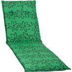 Gerard virágos Napozóágy párna zöld 193x60x6cm