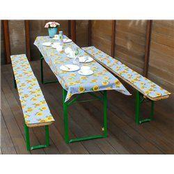 Sörpad párna és terítő napraforgós (220x80cm méretű asztalhoz)