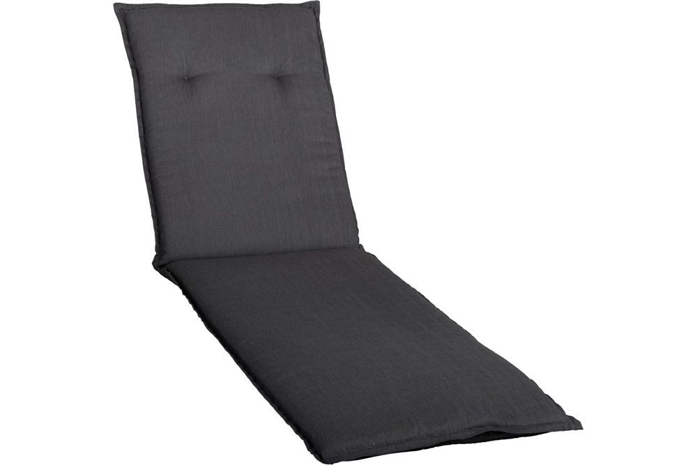 Lomita Napozóágy párna 193x60x6cm vizlepergető fekete huzattal