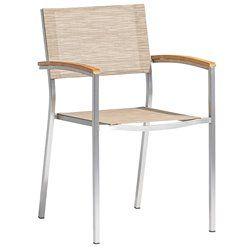 Wells kültéri rakásolható rozsdamentes kartámaszos szék 2 db-os szett