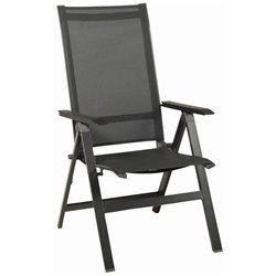 Urban kültéri összecsukható Prémium szék antracitszürke