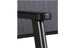 Acatop alacsonytámlás alumínium szék 2 db-os szett antracit-fekete