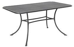 Astor kültéri asztal és szék garnitúra, időjárásálló (acél)