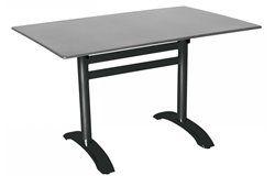 Összecsukható bisztró asztal 120x80cm antracit-palaszürke (alumínium-topalit)