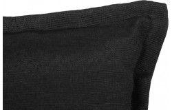 Lomita alacsonytámlás székpárna 101x50x6cm vizlepergető fekete huzattal