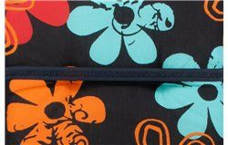 Frozen virágmintás párna Magastámlás székhez 118x50x6cm