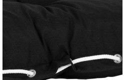 Köln Vízlepergető Raklapbútor ülőfelület fekete 120x80x16cm