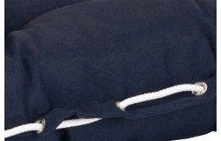Taft Napozóágy párna 191x58x8cm kék impregnált huzat