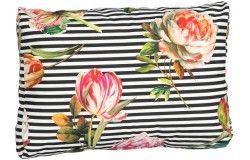 Raklapbútor 3db-os párna szett rózsa mintás hátpárnával
