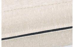Raklapbútor párna szett bézs vízlepergető cipzáras huzattal